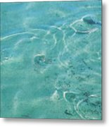 Circles On The Water Metal Print