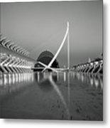 City Of Arts And Sciences Metal Print