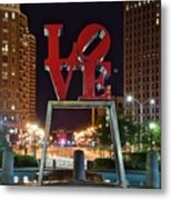 City Of Brotherly Love Metal Print