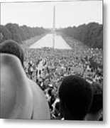 Civil Rights March On Washington D.c Metal Print by Everett
