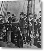 Civil War: Uss Kearsarge Metal Print