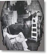 Clark Gable Mgm Sound Stage Circa 1932-2008 Metal Print