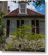 Clay Tile Roof Metal Print