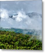 Clearing Storm West Virginia Highlands Metal Print