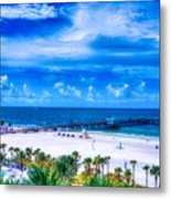 Clearwater Beach, Florida Metal Print