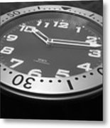 Clock Face Metal Print