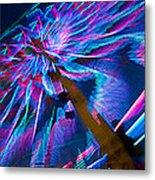 Close-up Of Paper Windmills Metal Print