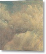 Cloud Study Metal Print