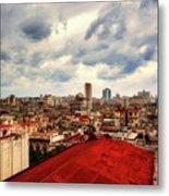 Clouds Over Havana Metal Print