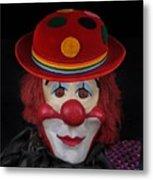 The Clown 3 Metal Print
