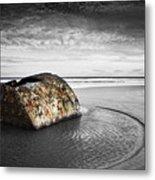 Coastal Scene Metal Print