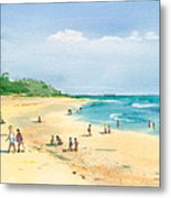 Coastal View Metal Print