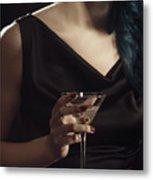 Cocktail Hour Metal Print