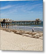 Cocoa Beach In Florida Metal Print