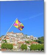 Coimbra Skyline Portugal Metal Print