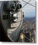 Coin Operated Viewer Metal Print