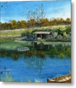 Cole Hill Pond Metal Print