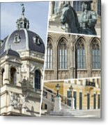 Collage Of Vienna Metal Print