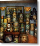 Collector - Hats - The Hat Room Metal Print by Mike Savad