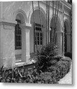 Colonial Architecture Metal Print