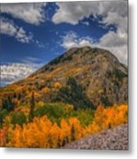 Color In The Clouds Metal Print