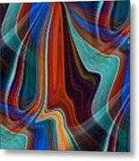 Color Me Abstract Metal Print