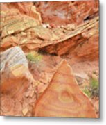 Colorful Wash 3 In Valley Of Fire Metal Print