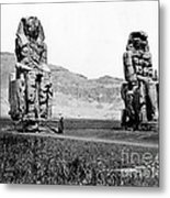 Colossi Of Memnon, Valley Of The Kings Metal Print