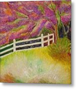 Colourful Earth Metal Print