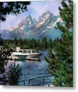 Colter Bay In The Tetons Metal Print