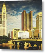 Columbus Ohio Metal Print