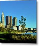 Columbus Ohio Panorama Metal Print