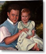 Commissioned Portrait Metal Print