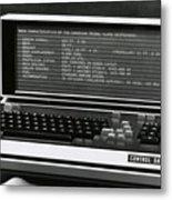 Computer Metal Print
