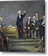 Constitutional Convention Metal Print