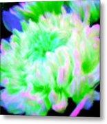 Cool Colorful Chrysanthemum Metal Print