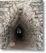 Corbeled Vault Passages In Grupo Coba At The Coba Ruins  Metal Print
