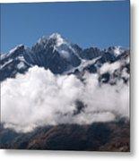 Cordillera Real And Illampu Metal Print