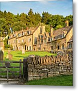 Cotswolds Evening Metal Print