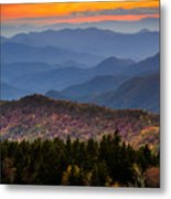 Cowee Overlook. Metal Print