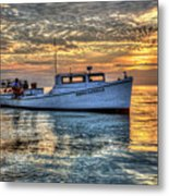 Crabbing Boat Donna Danielle - Smith Island, Maryland Metal Print