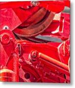 Crane Detail Metal Print