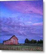 Crocheron Skies Metal Print