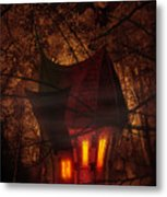 Crooked House Metal Print