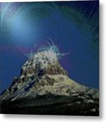 Crowsnest Mountain  Metal Print