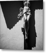 Crucifixion Metal Print by Dave Bowman