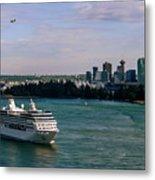 Cruise Ship 5 Metal Print