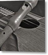 Cuatro Guitar And Flute Metal Print