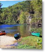 Current River 5 Metal Print