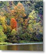 Current River Fall Metal Print